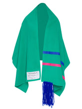 Green Flying Carpet Cape