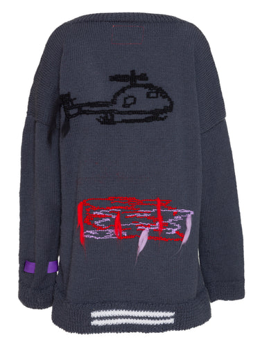 Helicopter Cardigan