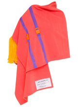 Orange Flying Carpet Cape