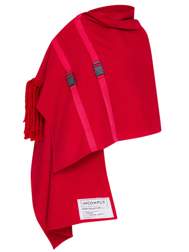 Red Flying Carpet Cape