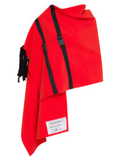 Vermilion Flying Carpet Cape