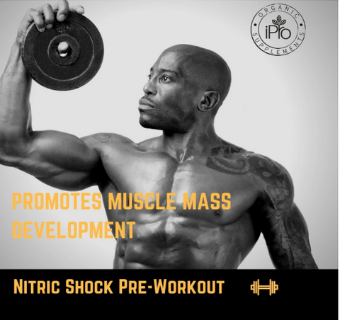 Image of Nitric Shock Pre-Workout (Watermelon)