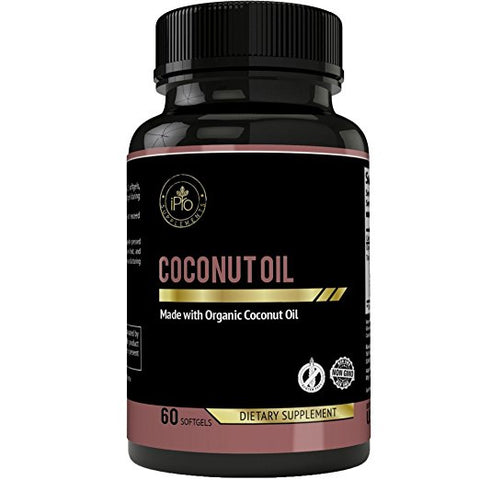 iPro Coconut Oil 60 Soft Gels