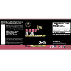 Raspberry Ketone Pure 500mg