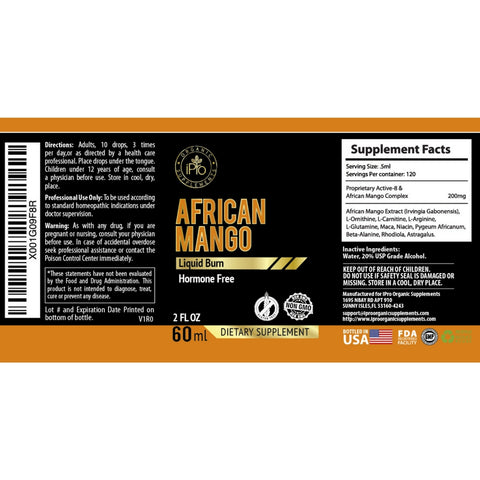 Image of African mango drops