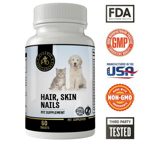 Image of Hair skin and nails for pets
