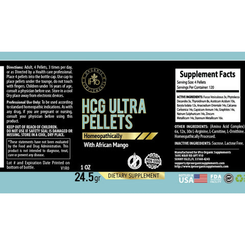 Image of Diet HCG Ultra Pellets 1oz