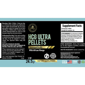 Diet HCG Ultra Pellets 1oz