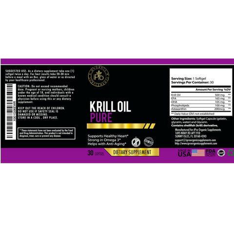 iPro Pure Krill Oil