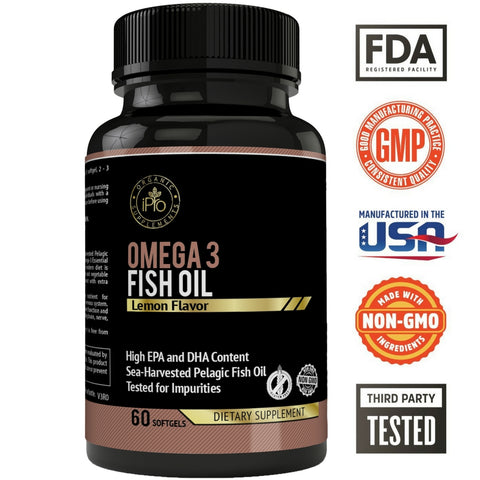 Image of iPro Omega 3 Fish Oil
