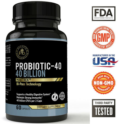 Probiotics  40 Billion