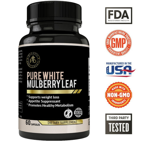 White Mulberry Leaf Pure 500mg