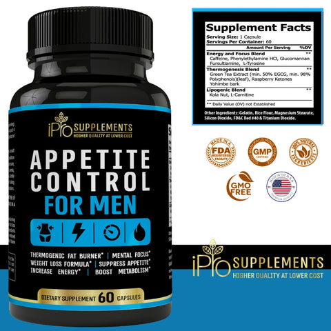 Appetite Control for Men