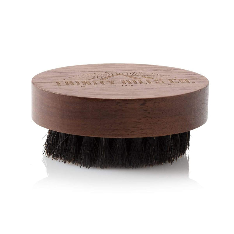 beard brush for short beard - mens natural products - trinity hills co