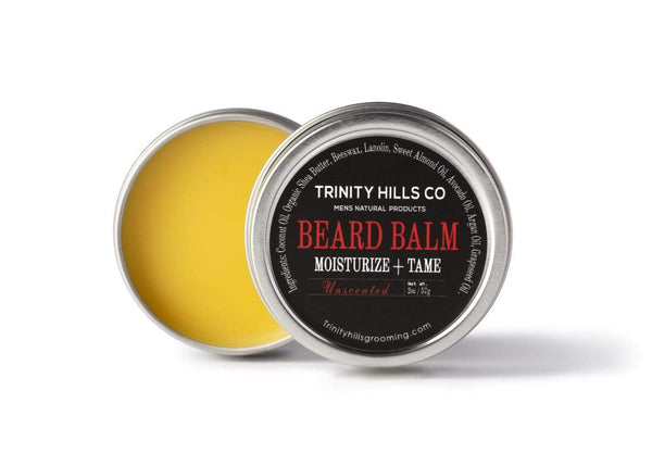 beard balm for black men - african american beard softener  - Men's natural products - trinity hills co