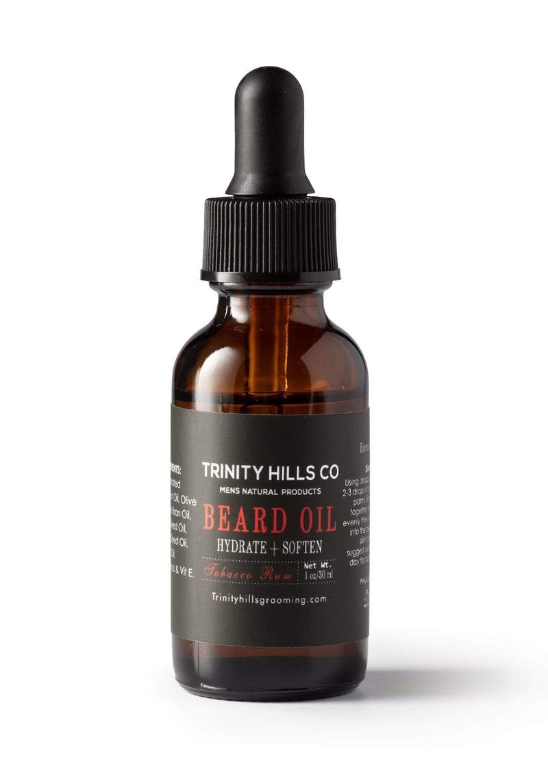 Tobacco Rum Beard Growth Oil