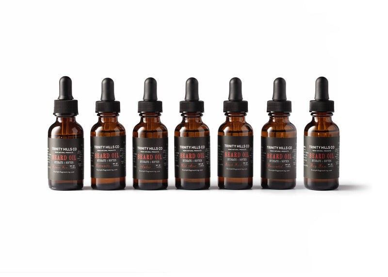 7-Pc Beard Growth Oil Master Bundle