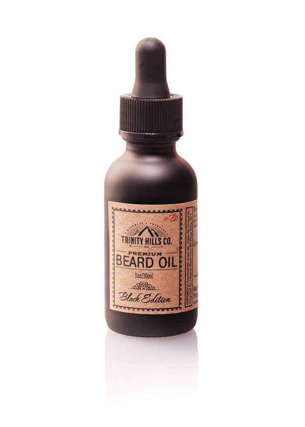 Premium Beard Growth Oil for black men - men's natural products - Trinity Hills Co
