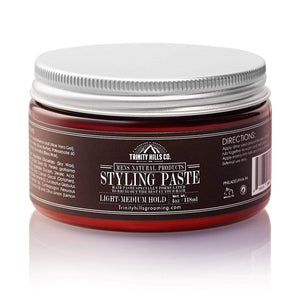 Hair Styling Paste - Mens Natural Products - Trinity Hills Co - Wave Grease - Wave Kit - Natural Hair - Natural Products.