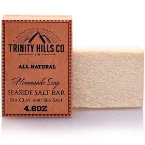 all-natural men's body soap - best soap for men's oily skin - best soap for black men - men's natural products - trinity hills co