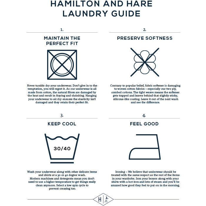 Product care guide Hamilton and Hare