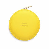 ESTELLA BARTLETT YELLOW CIRCLE PURSE