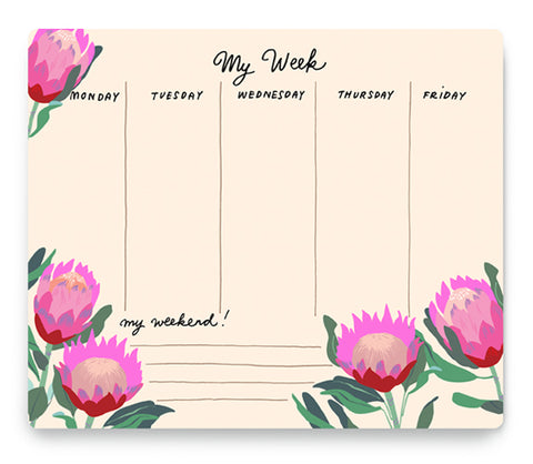 NOI PUBLISHING PROTEA WEEKLY PLANNER