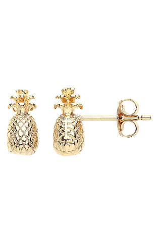 ESTELLA BARTLETT PINEAPPLE STUD EARRINGS