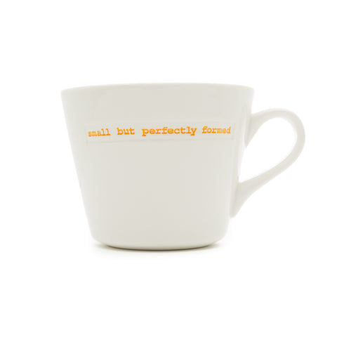 KEITH BRYMER JONES SMALL BUT PERFECTLY FORMED BUCKET MUG