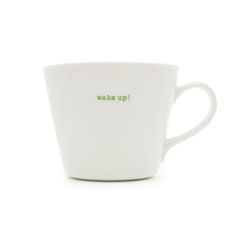 KEITH BRYMER JONES WAKE UP BUCKET MUG