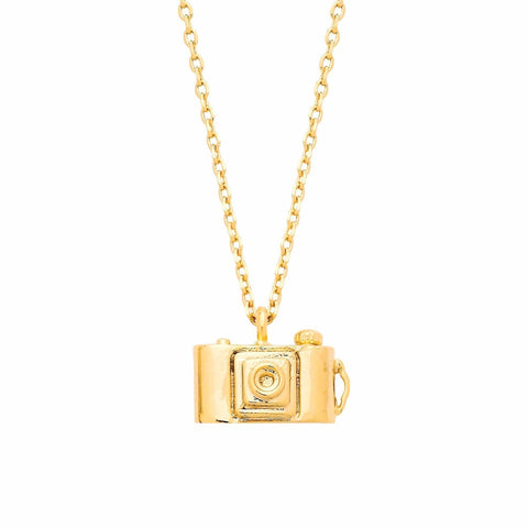 ESTELLA BARTLETT CAMERA NECKLACE