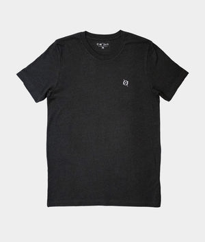 Classic Crew T-Shirt, Heather Black