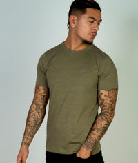 Classic Crew T-Shirt, Heather Sage