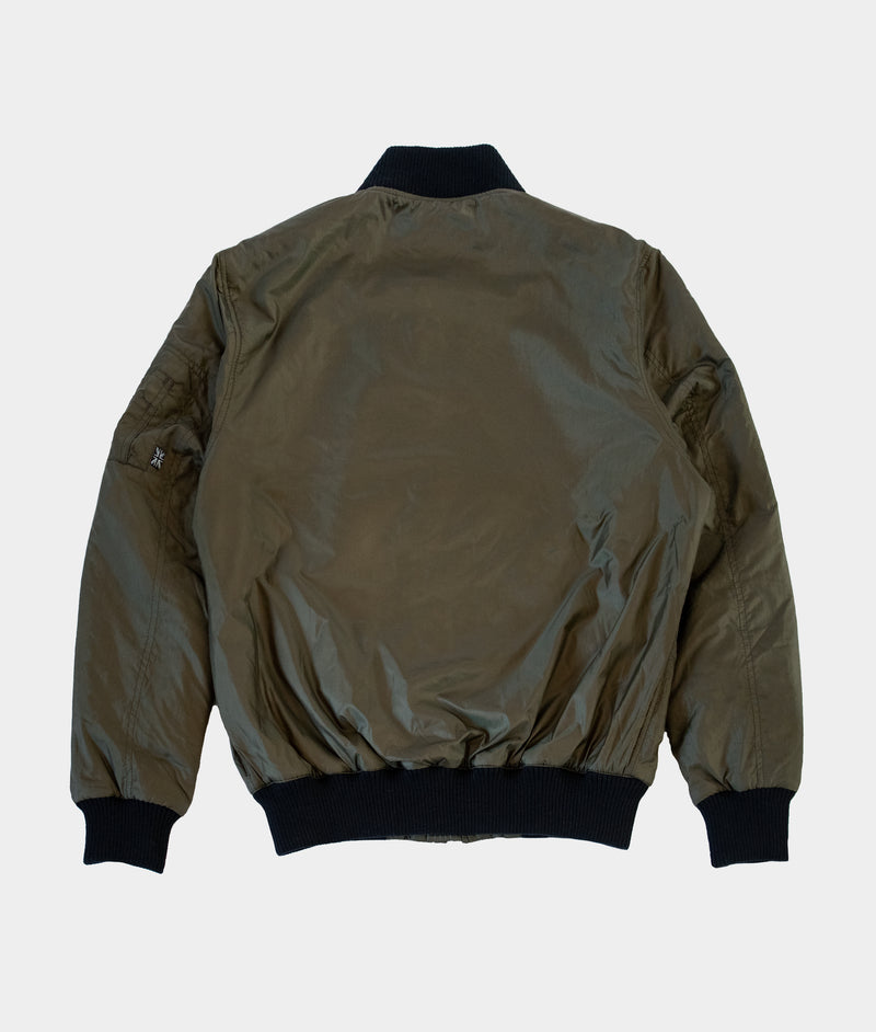 Fin Flight Bomber, Olive