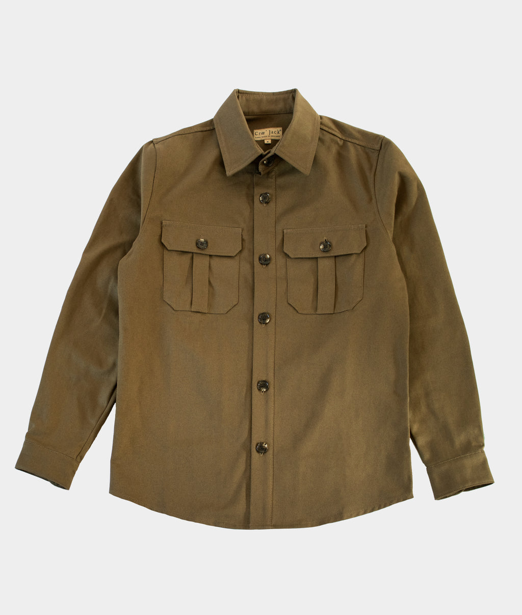Helm Shacket, Olive