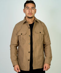 Helm Shacket, Beige