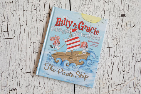 Billy + Gracie Unplugged Adventures Book