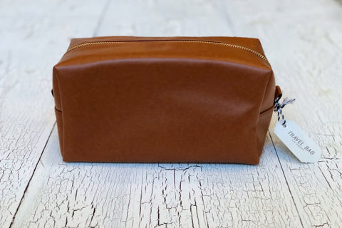 Leatherette Travel Bag
