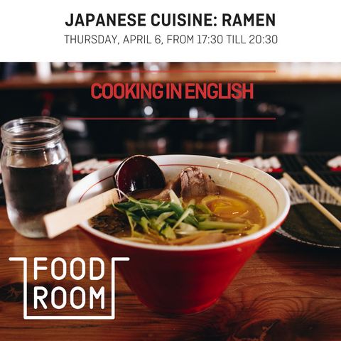 Japanese Cuisines: Ramen - Food Room - Cooking in English