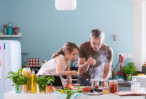 Cocina rica y saludable para adultos y niños - Healthy and tasty cooking for adults and kids / 28 agosto - August 28