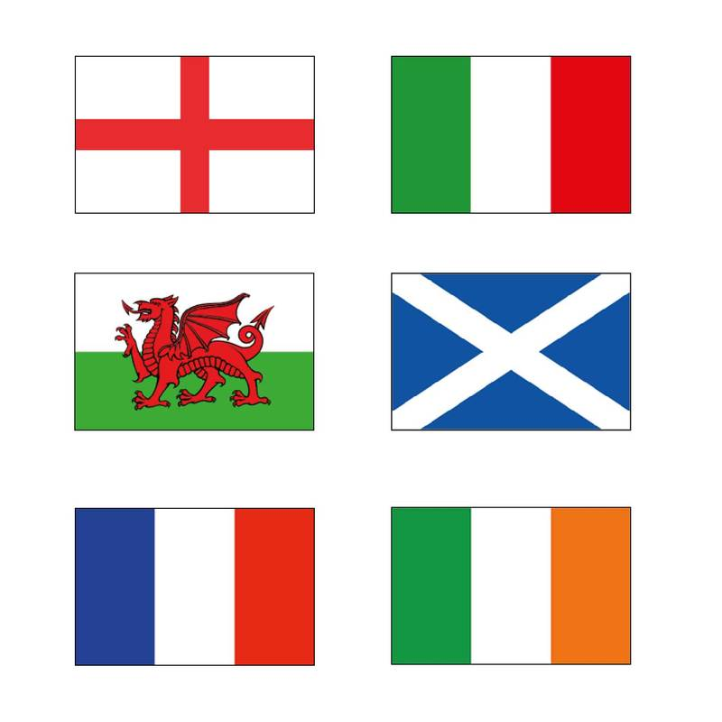 Six Nations Flags & Bunting