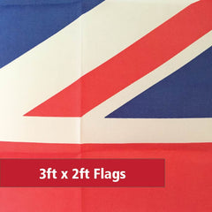 3ft x 2ft Flags
