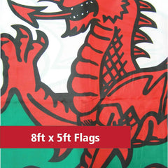 8ft x 5ft Budget Flags