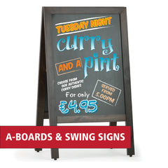 A-boards and Swing Signs