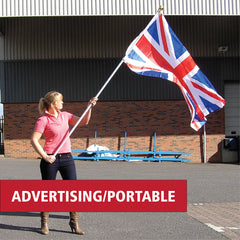 Advertising and Portable Flagpoles