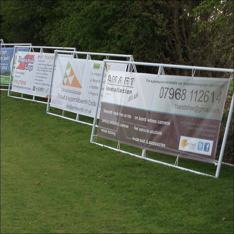 Banner Frames for Golf Days