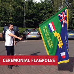 Ceremonial Flags and Flagpoles