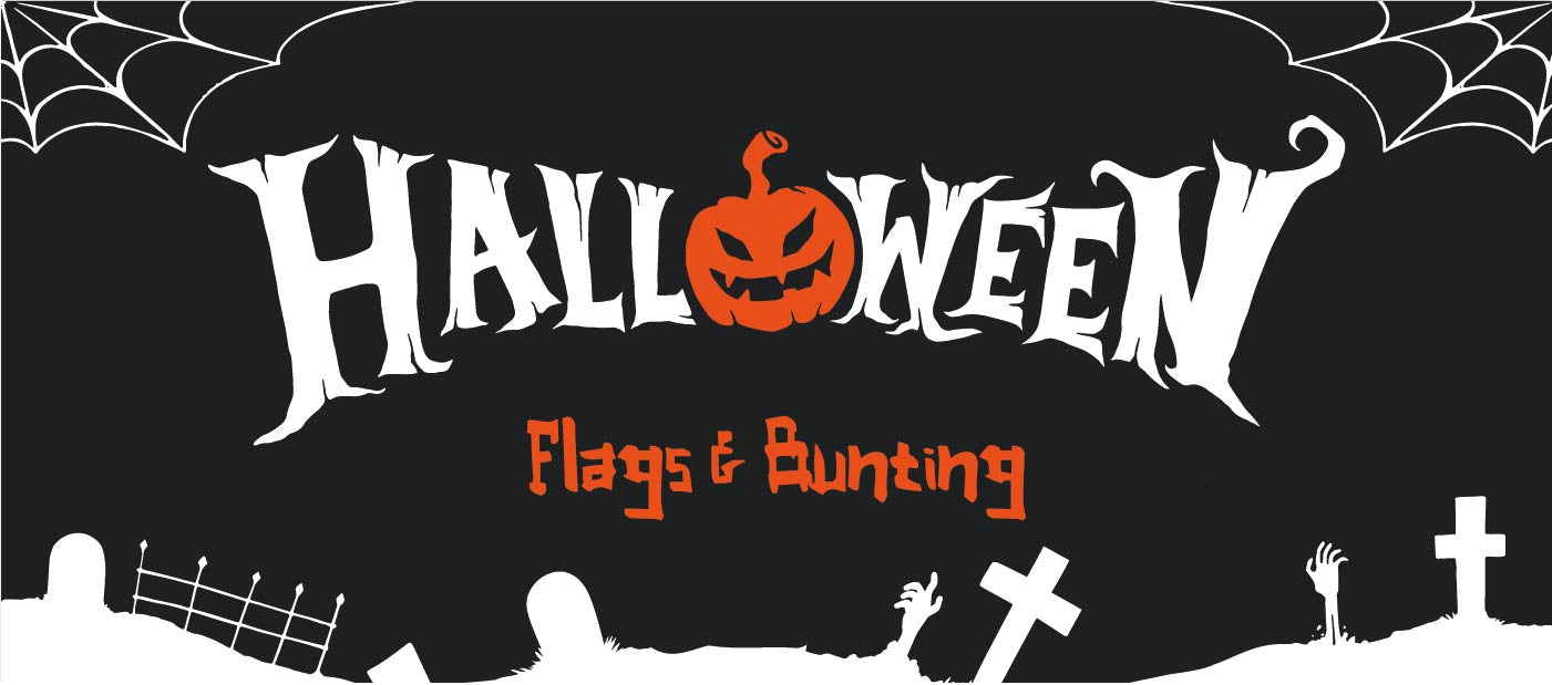 Halloween Flags and Bunting