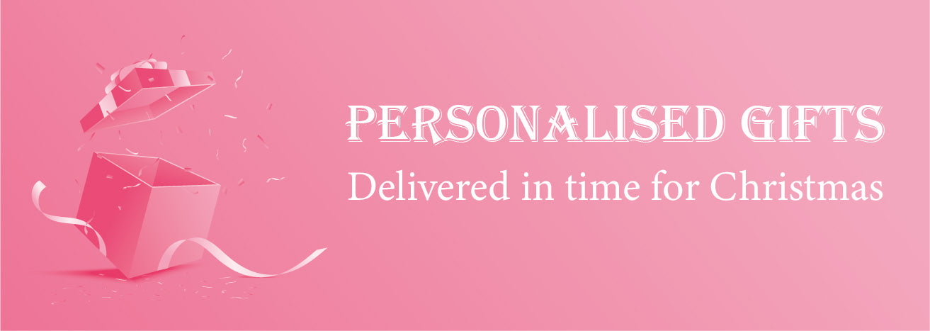 Personalised Gifts in time for Christmas