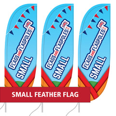 Small Feather Flags